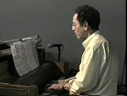 Tom Lehrer at piano
