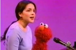 Elmo and Norah Jones