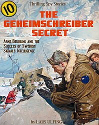 pulp cover on The Geheimschreiber Secret