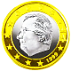 Albert on Euro coin