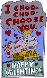 choo choo choose you