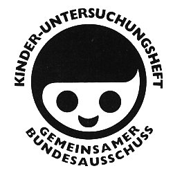 Logo auf dem Kinderuntersuchungsheft